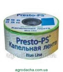 Капельная лента Presto Blue line 7mil 10 см (500м)