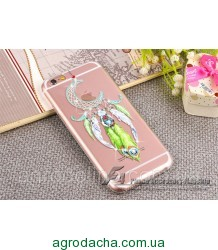 Luxury Diamond Rhinestone Wind Chime Moon Cover Case для iPhone 6/6S