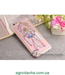 Luxury Diamond Rhinestone Wind Chime Ring Cover Case для iPhone 6/6S