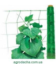 Огуречная сетка зеленая 1,7*500м
