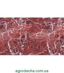 Самоклейка, оракал,  красное мясо мрамор, 45 см