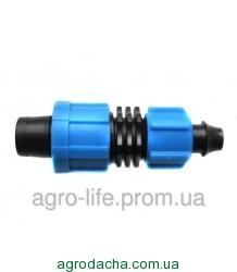 Фитинг-стартер ПЭ 12 мм с поджимом Presto