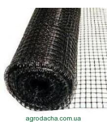 Сетка газонная от кротов Украина черная 1,5м*100м