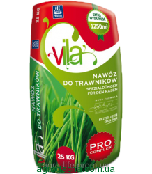 Удобрение Yara Villa для газонов PRO-COMPLEX 25кг