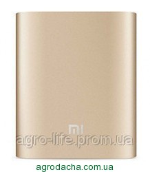 power bank MI 9800mAh 2USB(1A+2A)+4smd фонарик