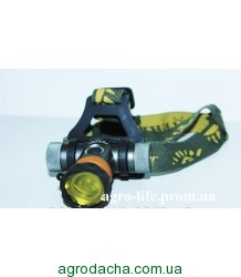 Фонарик налобный Police BL-H820 50000W (+4 светофильтра)