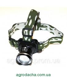 Фонарик налобный фонарь Bailong BL-6807 20000W