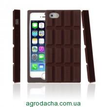 Силиконовый чехол 3D шоколадка для iPhone 5/5s