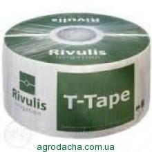 Капельная лента T-Tape (Rivulis) 7mil 20 см (2800 м), Винница