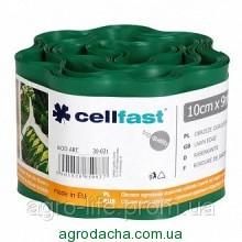 Газонный бордюр Cellfast 10 см x 9 м Темно-зеленый