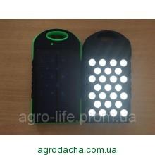 Солнечный внешний аккумулятор Power Bank Solar 28000 mah +25 LED