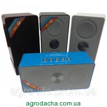 Портативная MP3 колонка WS-768BT Bluetooth,