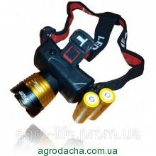 Налобный тактический фонарь Police BL-6968-T6