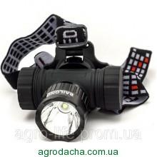 Налобный + велосипедный фонарь Police BL-6821-T6