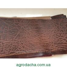 Дерматин(кож.зам) на метраж тисненный ширина 1м коричневый