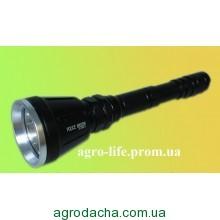 Фонарь тактический Police BL-Q3888-Cree XM-L2 80000w + 3 фильтра и 3 аккумулятора