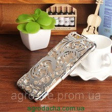 Чехол-накладка Radiating Hollow Plastic Fandas Silver Cover для iphone 5/5S, Винница