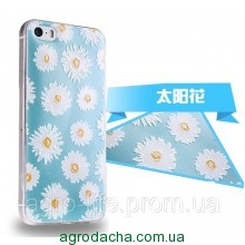 Чехол накладка 3D TPU Soft Silicon Case Skin для iPhone 5/5S, Винница