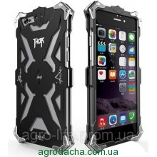 SIMON THOR Alloy Aluminium Protector High Quality Metal Sceleton Body Case для iPhone 5/5S Black