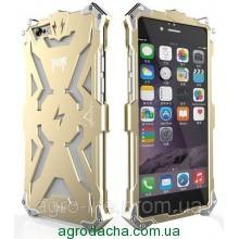 SIMON THOR Alloy Aluminium Protector High Quality Metal Sceleton Body Case для iPhone 6/6S Gold, Винница