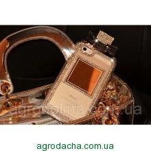 Rhinestone Diamond Perfume Bottle Case Clear для iPhone 6/6S Plus