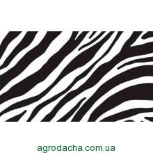 Самоклейка, оракал,  зебра, 45 см