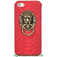 Чехол-накладка Lion Metal Ring для iPhone 6 plus красный