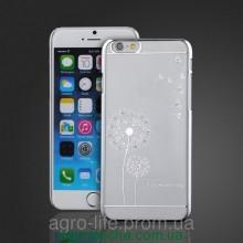 Чехол-накладка пластик Hallsen Blowball Silver для iPhone 6/6s, Винница
