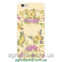 Чехол накладка Ultrathin Soft TPU Silicon Flowers Clustres Case для iPhone 5/5S, Винница