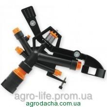 """Ороситель пульсирующий AJ-TS6009, пластиковый, РВ 1"""" AQUA JET (ø36 метров)"""