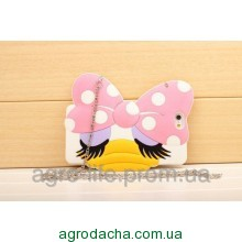 3D Cartoon Animal Monsters Bag Chain Soft Silicon Case для iPhone 5/5S