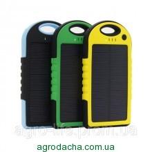 Power Bank + Solar Panel 10000mAH - внешний аккумулятор зарядное устройство