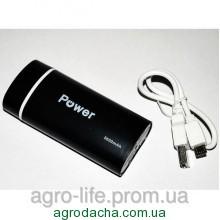 Портативное зарядное устройство Power Bank 5600 mAh 5V 1Ah
