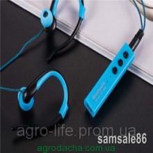 Bluetooth stereo гарнитура вакуум дуга sport MS-808B blue