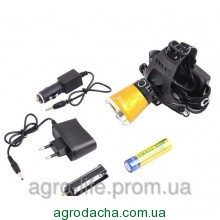 Налобный фонарь Small Sun UV5866 XPE + ультрафиолет