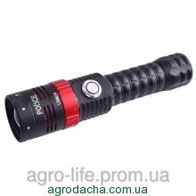 Фонарь Police 12v 6816-XML T6, zoom, магнит, колпачок