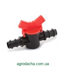 Кран шаровый проходной Presto-PS для трубки 16 мм (MV-0116)