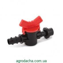 Кран стартовый с резинкой Presto-PS для трубки 16 мм (OV-0416-R)