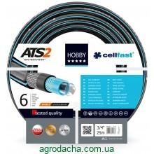 Шланг садовый Cellfast Hobby для полива диаметр 3/4 дюйма, длина 25 м (HB 3/4 25)