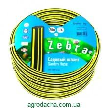 Шланг для полива Evci Plastik Зебра садовый диаметр 3/4 дюйма, длина 20 м (ZB 3/4 20)
