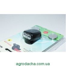 Фонарь на кепку Bailong BL-8001 3 диода