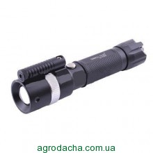 Фонарь Police 12v Small Sun ZY-R896 XPE, лазер,
