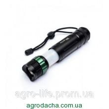 Фонарь ручной походный police D927A, раздвижной корпус, кемпинговая лампа, аккумулятор / батарейки, зарядка,