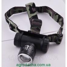 Ультрафиолетовый налобный фонарь Police BL-6952