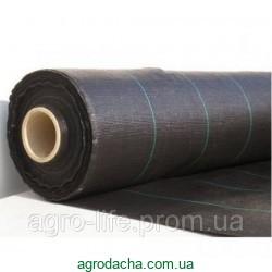 Агроткань НА МЕТРАЖ против сорняков PP, черная UV, 105 гр/м² размер 3,2м Bradas