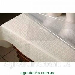 4063 Клеенка силиконовая прозрачная 1,37 см