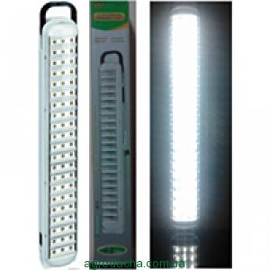 Лампа-фонарь светодиодная yj- 6825, led-панель, питание аккумуляторное 1800 ма/ч, заряжается от 220v,