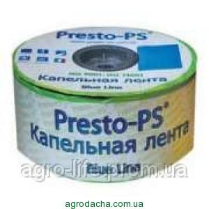 Капельная лента Presto Blue line 7mil 20 см