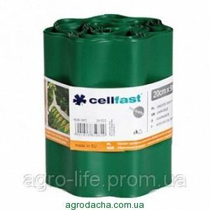 Газонный бордюр Cellfast 20 см x 9 м Темно-зеленый