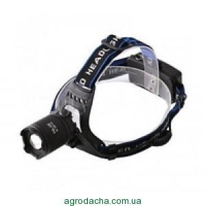 Профессиональный аккумуляторный налобный фонарь POLICE BL-2187 T6